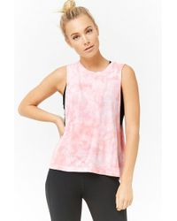 Forever 21 - Active Tie-dye Muscle Tee - Lyst