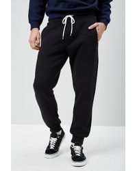 Forever 21 - Drawstring Fleece Sweatpants - Lyst