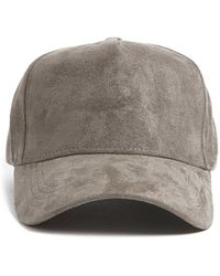 07a0f8d1e Forever 21 Men Faux Leather Baseball Cap in Black for Men - Lyst