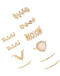 Forever 21 - Ornate Midi Ring Set - Lyst