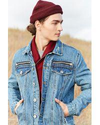 Forever 21 - Zippered Denim Jacket - Lyst