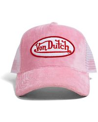Forever 21 - Von Dutch Velvet Trucker Hat - Lyst
