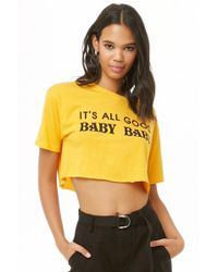 Forever 21 - Its All Good Baby Baby Graphic Tee - Lyst