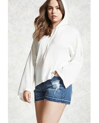 Forever 21 - Women's Plus Size Satin Bell Hoodie - Lyst