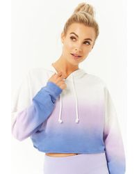 Forever 21 - Active Ombre Hooded Top - Lyst