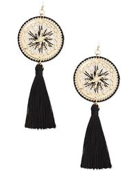 Forever 21 - Tasseled Dreamcatcher Drop Earrings - Lyst