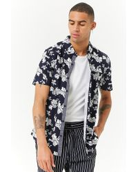 Forever 21 - Soul Star Tropical Floral Print Shirt - Lyst