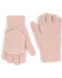 Forever 21 - Fuzzy Fingerless Gloves - Lyst