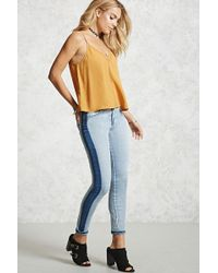 Forever 21 - Reworked Skinny Jeans - Lyst