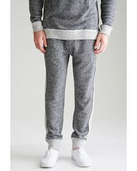 Forever 21 - Reverse-paneled French Terry Sweatpants - Lyst