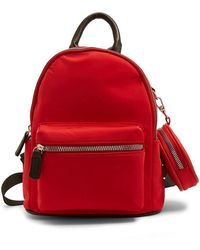Forever 21 - Faux Leather Trim Backpack - Lyst