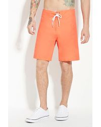 Forever 21 - Trunks Saltie Boardy Shorts - Lyst