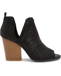 Forever 21 - Qupid Perforated Booties - Lyst