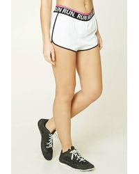 Forever 21 | Active Run Graphic Shorts | Lyst