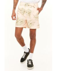 Forever 21 - Bellfield Leaf Print Swim Trunks - Lyst
