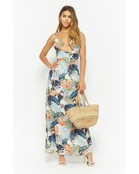 Forever 21 - Vestido maxi cut-out - Lyst