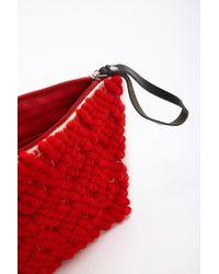 Forever 21 - Lattice Knit Clutch Bag - Lyst