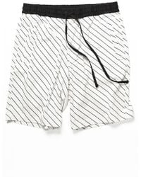 Forever 21 - Striped Drawstring Shorts - Lyst