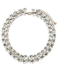 Forever 21 - Women's Faux Stone Statement Necklace - Lyst