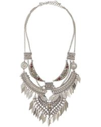Forever 21 - Tiered Ornate Necklace - Lyst