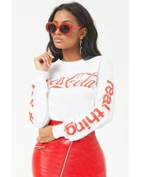 FOREVER21 - Coca-cola Graphic Tee - Lyst