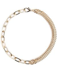 Forever 21 - Short Curb & Link Chain Necklace - Lyst
