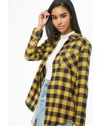 Forever 21 - Checkered Pocket Shirt - Lyst