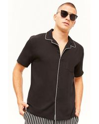 Forever 21 - 's Piped Pocket Shirt - Lyst