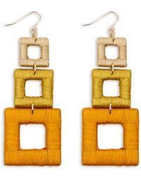 Forever 21 - Tiered-geo Drop Earrings - Lyst