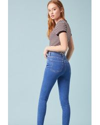 Forever 21 - Sculpted High-rise Skinny Jeans - Lyst