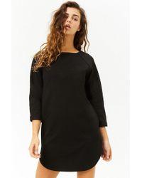 Forever 21 - Women's Boxy Slub Knit Mini Dress - Lyst
