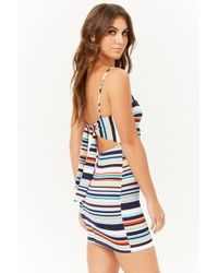 Forever 21 - Striped Bodycon Cami Dress - Lyst