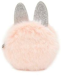 Forever 21 - Faux Fur Bunny Coin Purse - Lyst