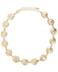 Forever 21 - Chain-link Coin Choker - Lyst
