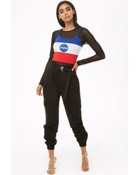 Forever 21 - Paperbag Cargo Joggers - Lyst