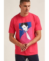 Forever 21 - 's Patrick Nagel Woman Graphic Tee Shirt - Lyst