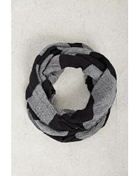 Forever 21 - Men Striped Infinity Scarf - Lyst