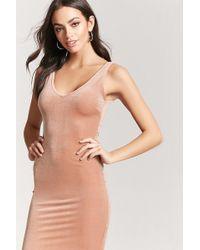 Forever 21 Women's Velvet Tank Dress