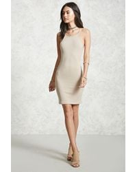 Forever 21 - Women's Ribbed Bodycon Dress - Lyst