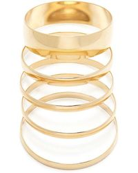 Forever 21 - Mirrored Bangle Set - Lyst