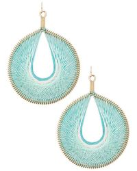 Forever 21 - Thread-wrapped Drop Earrings - Lyst