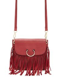 Forever 21 - Fringe Faux Leather Crossbody - Lyst