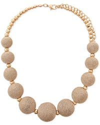 Forever 21 - Women's Beaded Statement Necklace - Lyst