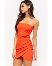 Forever 21 - Tulip-hem Homecoming Dress - Lyst