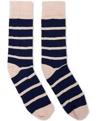 Forever 21 - Men Richer Poorer Striped Crew Socks - Lyst
