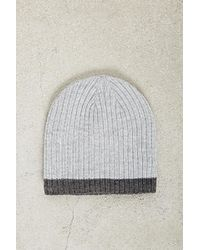 Forever 21 - Men Cuffless Ribbed Beanie - Lyst