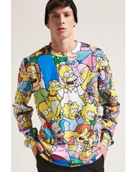 Forever 21 - The Simpsons Graphic Sweatshirt - Lyst