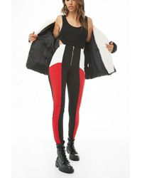 Forever 21 - Zip-front Colorblock Trousers - Lyst