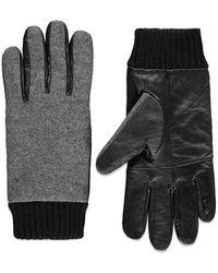 Forever 21 - Leather-paneled Gloves - Lyst