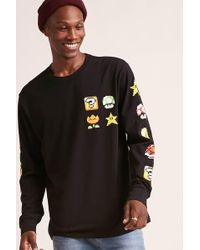 Forever 21 - Super Mario World Graphic Long-sleeve Tee - Lyst